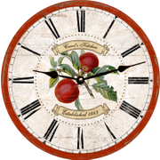 apple-clock-personalized