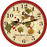bird-clock-chickadee