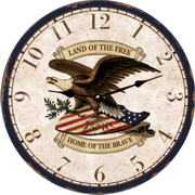 patriotic-eagle-wall-clocks-clock