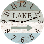 lake-arrow-clock