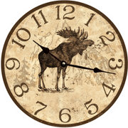 rustic-wall-clocks-lodge-clock