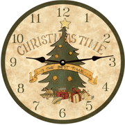 christmas-wall-clocks-maurice-dallas-clock