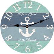 nautical-anchor-wall-clock