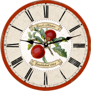 personalized-apple-wall-clock