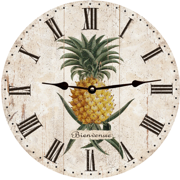 french-country-wall-clock-pineapple-clock