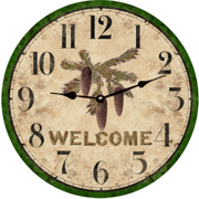rustic-wall-clocks-pinecone-clock