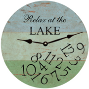 relax-at-the-lake-clock