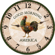 country-wall-clock-rooster