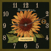 square-clocks-sunflower-clock