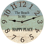 the-beach-is-my-happy-place-clock