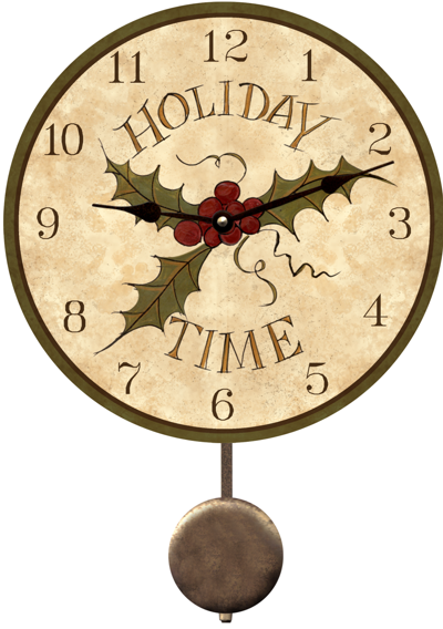 Holiday clock maurice dallas