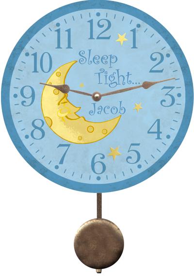 Nursery Clock Personalized Nursery Clock