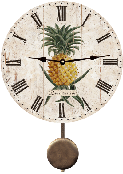 Pineapple Clock French Pineapple Clock