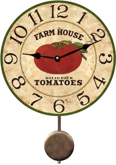 Tomato Clock Farm House Tomato Clock