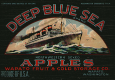 deep blue sea-fruit-wall-plaque